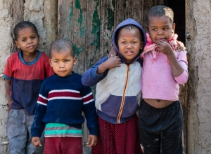 Die Kinder von Khwai Village I